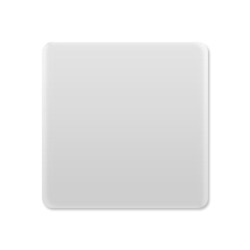 Hűtőmágnes, négyzet alakú